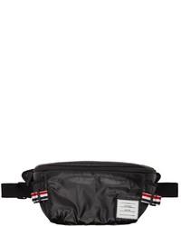 Thom Browne Black Oversized Belt Bag