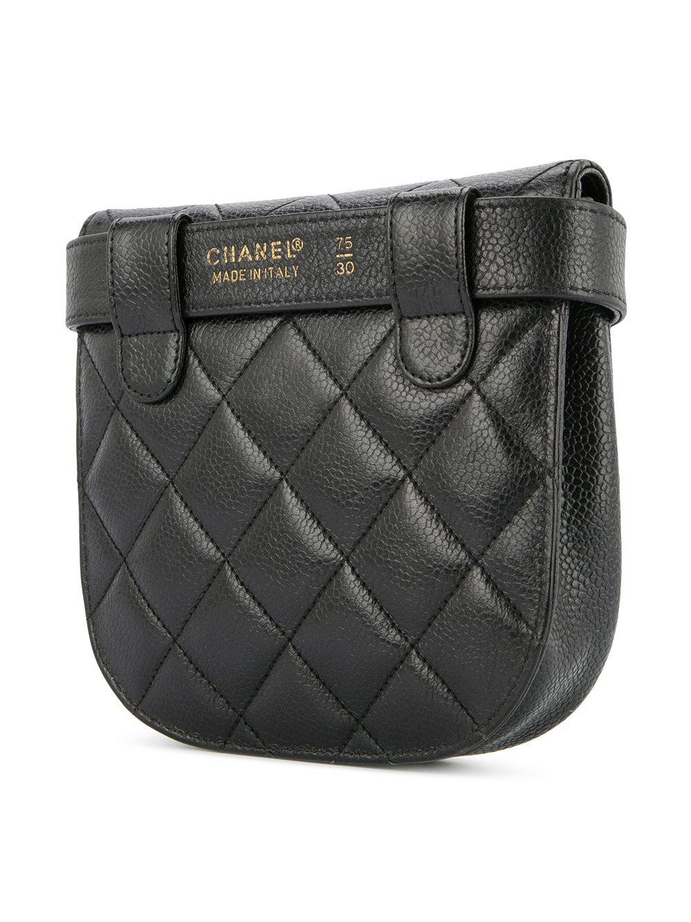 7243c90f5d8e70 Chanel Vintage Diamond Quilted Belt Bag, $6,383 | farfetch.com ...