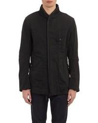Helmut Lang Ballistic Twill Field Jacket Black