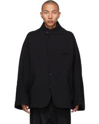 Fumito Ganryu Black Vintage Modern Jacket