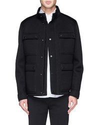 Neil Barrett Bonded Jersey Field Jacket