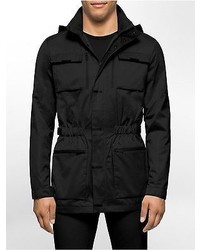 Calvin Klein Classic Fit 4 Pocket Water Repellant Utility Jacket