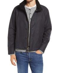 Billy Reid Waxed Cotton Water Repellent Jacket