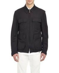 Ann Demeulemeester Zip Front Field Jacket