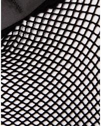 49638223b4324 Asos Fishnet Bow Strap Ankle Socks, $6 | Asos | Lookastic.com