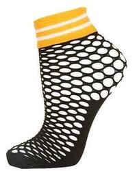 Fishnet Sporty Ankle Sock