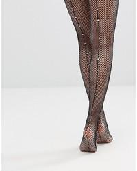 9e978524c5e25 Women's Black Fishnet Tights from Asos   Women's Fashion   Lookastic.com