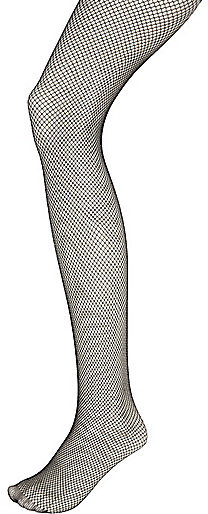 River Island Black Fishnet Tights