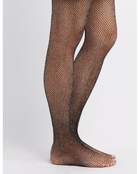 Charlotte Russe Shimmer Fishnet Tights