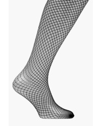 Boohoo Diana Black Fishnet Tights