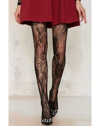 Factory Look From London Flutter Lace Tights