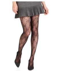 Jessica Simpson Tights Fishnet Bow Tights