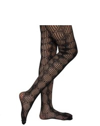 Journee Collection Juniors Diamond Pattern Fishnet Tights