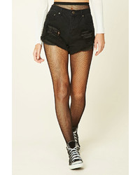 Forever 21 Ornate Fishnet Tights