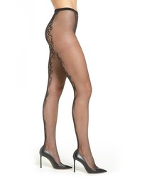 Via Spiga Salt Swept Fishnet Tights