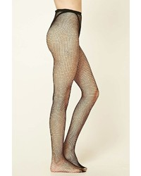 5d9e255fbee9d Forever 21 Sheer Fishnet Tights, $6 | Forever 21 | Lookastic.com
