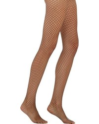 Wolford Sixty Six Fishnet Tights Black