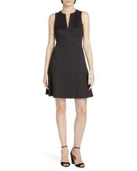 kate spade new york Bakery Dot Jacquard Fit Flare Dress