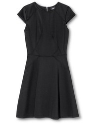 Mossimo Fit And Flare Dress W Cap Sleeves
