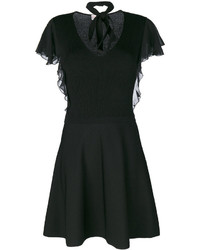 RED Valentino Flared Fitted Dress