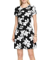 Vince Camuto Fresco Blooms Fit Flare Dress