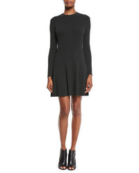 A.L.C. Miriam Long Sleeve Fit And Flare Jersey Dress