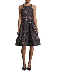 Kate Spade New York In Bloom Fit And Flare Sleeveless Dress