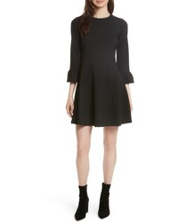 Kate Spade New York Ponte Knit Fit Flare Dress