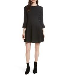 Kate Spade New York Ponte Knit Fit Flare Dress