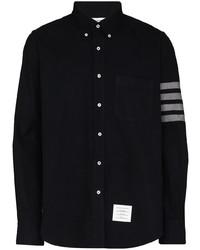 Thom Browne 4 Bar Flannel Shirt