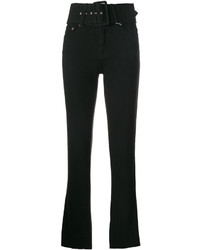 MM6 MAISON MARGIELA Belted Bootcut Jeans