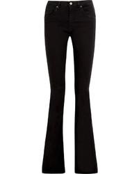 Victoria Beckham Denim Mid Rise Flared Jeans