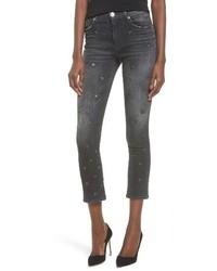 Hudson Jeans Harper High Waist Crop Baby Boot Jeans