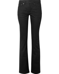 Saint Laurent Mid Rise Bootcut Jeans