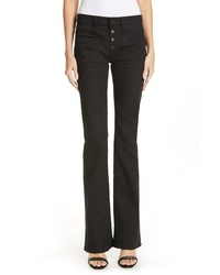Saint Laurent Patch Pocket Flare Jeans