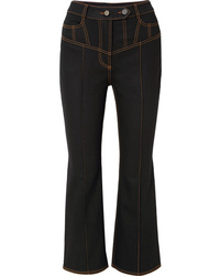 Ellery Presentism High Rise Flared Jeans