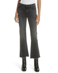 Nili Lotan Vianca Crop Flare Jeans
