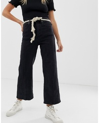 d81e46164d7 Free People Wales Cropped Wide Leg Jeans
