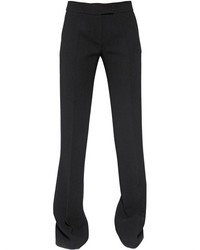 Antonio Berardi Flared Virgin Wool Crepe Pants