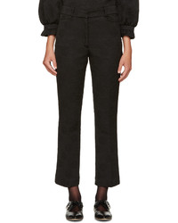 Simone Rocha Black Flared Trousers