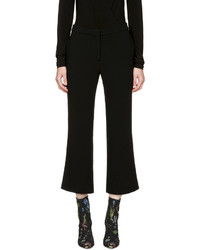 Altuzarra Black Nettle Kick Flare Trousers