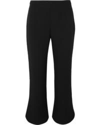 Prada Cropped Crepe Bootcut Pants