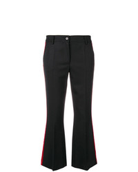 P.A.R.O.S.H. Cropped Flared Trousers