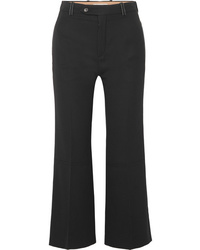 Chloé Cropped Twill Flared Pants