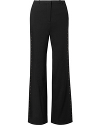 See by Chloe Embellished Stretch Crepe Flared Pants