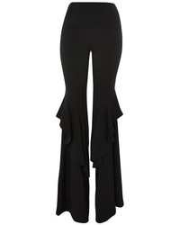 Topshop Extreme Frill Flared Trousers