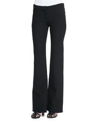 Derek Lam Flare Leg Front Pocket Trousers Black
