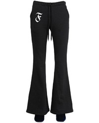 Facetasm Flared Cotton Sweatpants