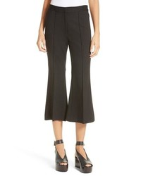 Tibi Flared Crop Ponte Pants
