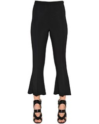 Antonio Berardi Flared Cropped Cady Pants